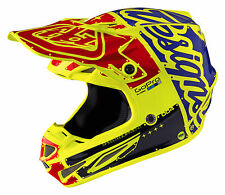Troy Lee Designs 2017 SE4 Carbon Fiber MIPS Helmet Factory - Flo Yellow 10200850