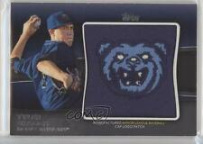 2012 Topps Pro Debut Cap Logo Manufactured Patch MLL-TS Tyler Skaggs Rookie Card