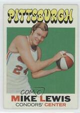 1971-72 Topps #189 Mike Lewis Pittsburgh Condors (ABA) RC Rookie Basketball Card