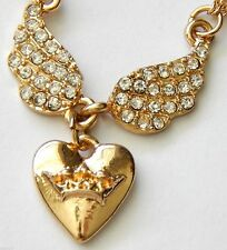 Juicy Couture Earings, Crown, Crystal, Necklace-Bracelet Pink-Choker-Lips-Heart