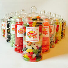 Victorian Sweet Jars Retro and traditional filled christmas or birthday gifts