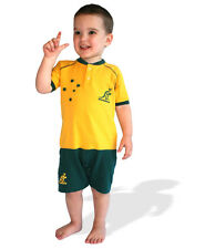 Wallabies Infant Shortie Footysuit Sizes 000 - 1