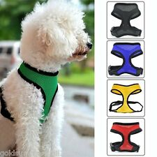 Adjustable Waistcoat Dog Collar Leads Chest Strap Harness Cat Mesh Vest Clothes