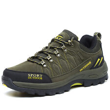 GOMNEAR big size men trail hiking shoes athletic non slip wearable outdoor shoes