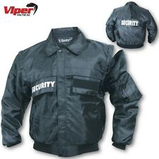 VIPER SECURITY JACKET DETACHABLE LINER S-5XL WATERPROOF WORKWEAR DOORMAN BOUNCER