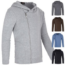 Cheap! Fashion Mens Slim Fit Tops Designed Hoodies Hoody Jackets Coats 5 Color