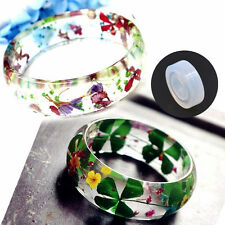Hot Silicone DIY Ring Mold Making Resin Casting Jewelry Rings Mould Hand Crafts