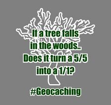 If a tree falls in the woods Geocaching Hoodie
