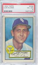 1952 Topps #308 Luis Aloma PSA 4 Chicago White Sox Baseball Card