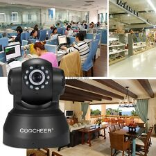 720p Wired IP/Network Pan/ Tilt Security Camera US Plug With Night Version HE8Y