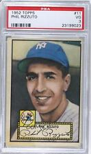 1952 Topps #11.1 Phil Rizzuto (Red Back) PSA 3 New York Yankees Baseball Card