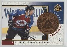 1997-98 Pinnacle Mint Collection Promo #3 Peter Forsberg Colorado Avalanche Card