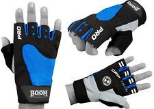 BOOM Prime Weight Lifting Padded Gym Gloves Training Body Building Fitness