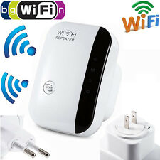 WPS AP Range Booster Router 300Mbps 802.11 Signal Extender Wifi Repeater
