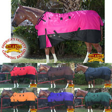 66-84 HILASON 1200D RIPSTOP WATERPROOF TURNOUT WINTER SURCINGLE HORSE SHEET