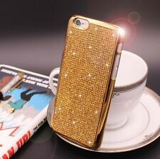 Bling Swarovski Element Crystal Diamond Gold Soft case For iphone 6 6s {zi312