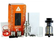 Genuine IJOY Limitless XL Tank & RDTA - 4.0ml, 50-215W BLACK/SILVER Limitless XL