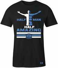 """HALF MAN HALF AMAZING"" T-Shirt to Match Foamposite One""Royal"""