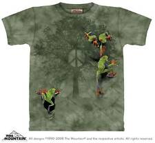 PEACE TREE FROG ADULT T-SHIRT THE MOUNTAIN