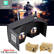 Google Android IOS Cardboard +VR Source App Valencia Quality 3D Glasses Box LN
