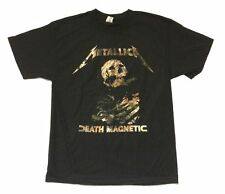 Metallica Buried Alive Death Magnetic Tour Black T Shirt New Official San Rafael