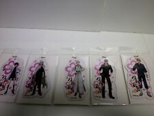 Touken Ranbu Hanamaru Big vinyl charm 5 sets anime new