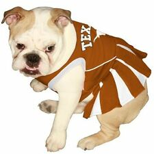 NCAA Texas Longhorns Dog Pet Cheerleader Dress (sizes)
