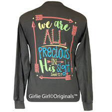 "Girlie Girl Originals ""Precious"" Long Sleeve Charcoal Unisex Fit T-Shirt"