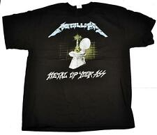 METALLICA metal up your ass T-SHIRT NEW S M L XL XXL metal band authentic