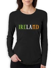 Ireland - Irish Pride Flag of Ireland St. Patrick's Women Long Sleeve T-Shirt