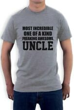 Most Incredible One Of A Kind Freaking Aawesome Uncle T-Shirt Gift Idea