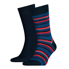 Tommy Hilfiger Mens Striped Socks – Original