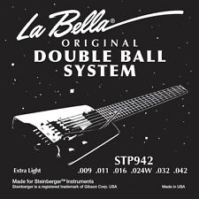 New LaBella Steinberger Double Ball-End TransTrem Calibrated Strings. In Stock!