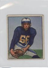 1950 Bowman #124 Jack Zilly Los Angeles Rams RC Rookie Football Card