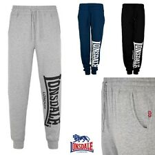 Lonsdale Men'S Jogging Pants Logo Large Gym Fitness Jogger Trackies S to 3XL