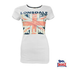 Lonsdale Women Longshirt Addie Womens Top Shirt XS S M L XL XXL NEW