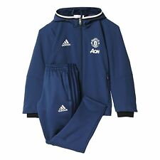 adidas Childrens Infant Football Manchester United Training Presentation Suit