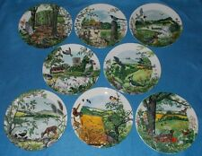 WEDGWOOD PLATES COLIN NEWMANS COUNTRY & RIVER PANORAMA SELECT INDIVIDUAL PLATE