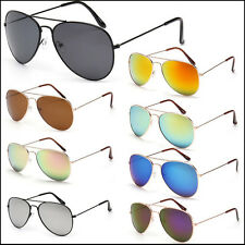 Fashion Women Men Driving Sunglasses Unisex Vintage Retro Glasses Mirror Lens UV