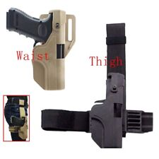 Tactic Quick Release Automatic Loading Locking Waist Holster for Glock G17 18 19