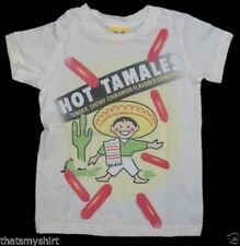 New Authentic Junk Food Hot Tamales Girls Tee Shirt
