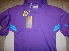 "UNDER ARMOUR GOLF HEATGEAR ""VENT"" POLO SHIRT  L MEN NWT $69.99"