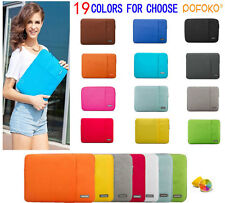 "11""-15.6"" Laptop Ultrabook Soft Sleeve Case Bag For MacBook Acer HP Dell Toshiba"