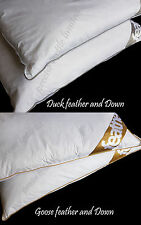 New Luxury Duck Feather Down And Goose Feather Down Pillow Pair Best Price