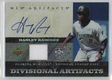 2007 Upper Deck Artifacts #DA-HR Hanley Ramirez Miami Marlins Auto Baseball Card
