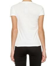 "NEW Pinko T-shirt ""Cortese"" Women White Made In PT  1G128L Y2YJ CORTESE Discount"