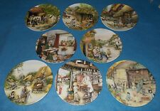 ROYAL DOULTON OLD COUNTRY CRAFTS COLLECTORS PLATES  - CHOOSE INDIVIDUAL PLATE