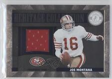 2011 Panini Totally Certified Heritage Collection Materials #37 Joe Montana Card