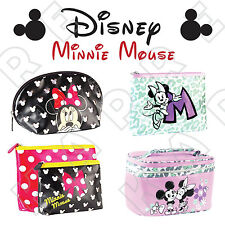 Disney MINNIE MOUSE MICKEY Cosmetic / Toiletry / Make Up / Wash / Train Bag NEW