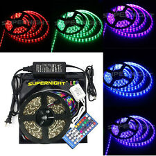 5M 300Leds 3528/5050 SMD RGB/White/Red/Green/Blue LED Strip Light /Remote /Power